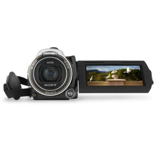Sony Handycam HDR CX560V Full HD Flash Memory Camcorder Black