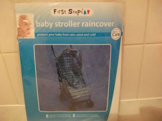 Baby Clear Stroller Raincover SEALED Pram Push Chair Rain Wind and Cold