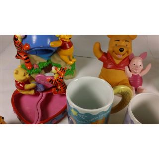 Disney Lot of Winnie The Pooh Collectibles Houston Harvest 'YZ00247N'