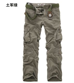 Mens Casual Military Army Cargo Camo Combat Work Pants Trousers Size 28 38 N094