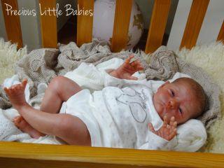 Precious Little Babies Reborn Newborn Baby Boy Doll Will by Natalie Scholl