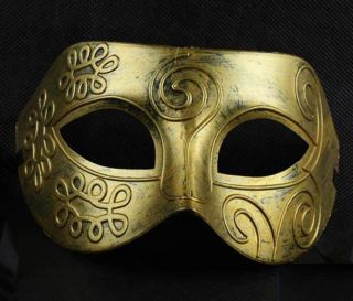Hot Halloween Masquerade Party Greece Roman Mask Retro Style Mask Cosplay Masks