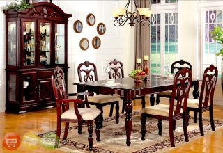 Formal dining room photos on popscreen for Formal dining room sets with china cabinet