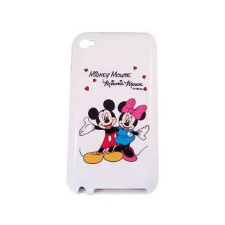 006690c1589 iPod Touch 4 Licensed Mickey Minnie Love Disney Silicone Protector Cover  Case ...