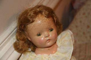 "Vintage Petite Sally Doll American Character 15"" Original Clothing Cutie"