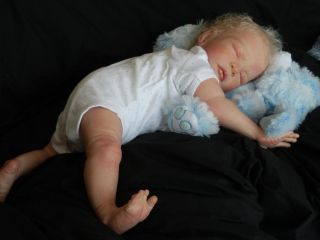 Stunning Reborn Baby Boy Doll Ali by Anyas Reborn Angels Nursery