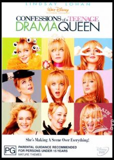 Confessions of A Teenage Drama Queen New SEALED DVD R4