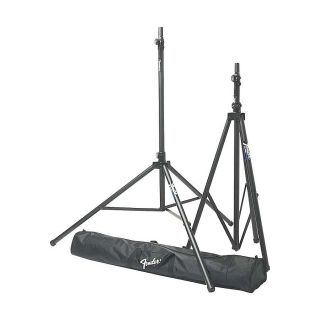 Fender ST275 2 Tripod Speaker Stands w Bag New