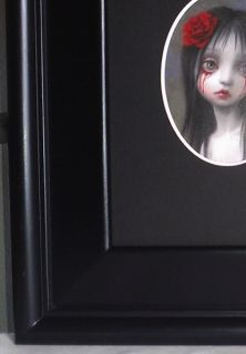 Mark Ryden Rose Blood Tears Girl Sad Gothic Portrait Crying Art Nightmare Emo