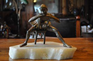 Bouchard Artist Ballerina Bronze Sculpture Dancer Rodin Statue Figure Figurine