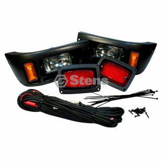 Club Car DS Headlight Tail Lights Wiring Harness Kit
