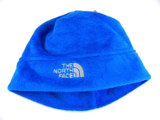 New The North Face Oso Fluffy Blue Winter Beanie Hat Boy Girl Infant Baby OS