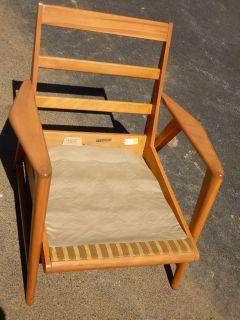 & RARE Heywood Wakefield Aristocraft Lounge Chair Champagne
