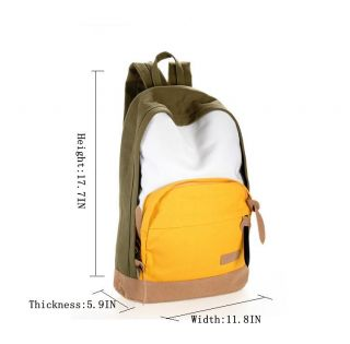 2013 New Korean Fashion Fresh and Lovely Pure Fruit Color MS Canvas Backpack