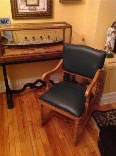 Titanic Prop Dining Room Chair from 20th Century Fox 1997