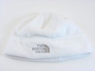 New The North Face Oso Fluffy White Winter Beanie Hat Boy Girl Infant Baby OS