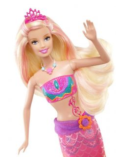 New Barbie in A Mermaid Tale 2 Merliah Transforming Doll Free Shipping