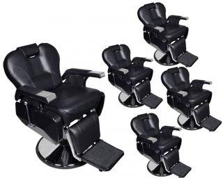 5 All Purpose Hydraulic Recline Barber Chairs Salon Beauty Spa Shampoo Equipment