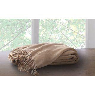 New Marcini Super Comfotable Bamboo Fiber Cotton Throw Blanket