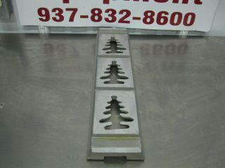 Rhodes Kook E King Cookie Depositor Machine Manual Die 3X Christmas Tree