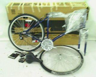 Diamondback 2013 Men's Edgewood Sport Hybrid Bike 700c Wheels Blue 21 in x L