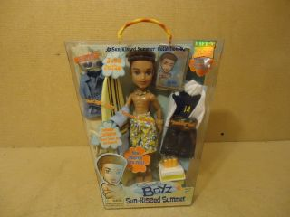 MGA Entertainment Bratz Boys Sun Kissed Summer Doll Dylan 3 Cool Outfits