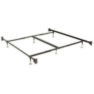 Adjustable Queen Eastern King Sturdy Metal Bed Frame W