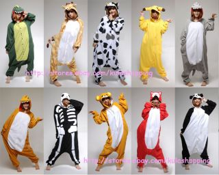 Dinosaur Pikachu Giraffe Fashion Animal Costume Cosplay Coat Party Outfit Hoody