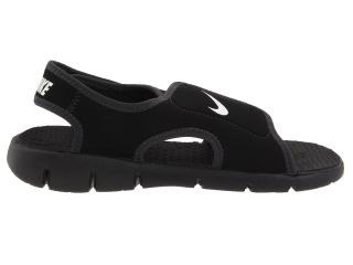 Nike Kids Sunray Adjust 4 (Little Kid/Big Kid) Black/White/Anthracite