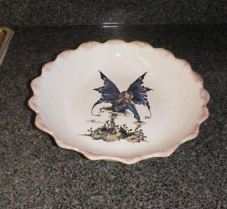 New Kitchen Fairy x Large Pasta Serving Bowl Dish Amy Brown Retired Collection