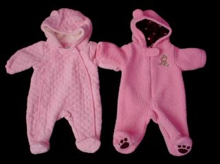 Baby Girl Outerwear Snow Suit Clothes Newborn NB Fall Winter Clothes Lot
