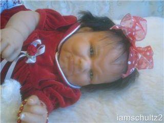 Precious Reborn Fussy Grumpy Face Berenguer Newborn Baby Doll for Christmas