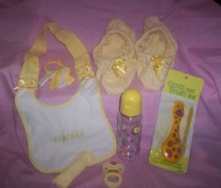 Adult Sissy Baby Strap on Time Out Pacifier Yellow