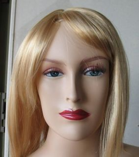 "New 5'9""H Flesh Sexy Female Mannequin Torso w Wig D15"