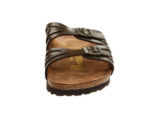 Birkenstock Granada Soft Footbed Brown Oiled Leather Birko Flor Sandals Sz 40