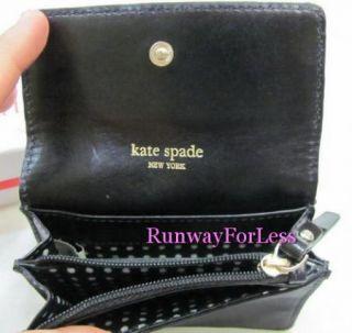 Kate Spade Black Nylon Wallet