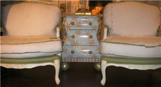 Mackenzie Childs Bombay Chest Baby Blossom