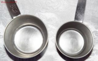 Vintage Norpro Stainless Measuring Cups Measuring Spoons Kitchenware Utensils