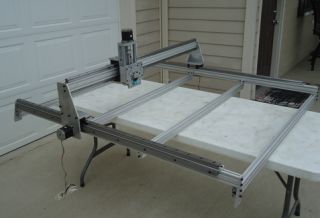 4 x 4 CNC Plasma Milling Router Table Rapids Over 500 IPM