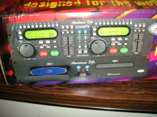 American DJ Audio Dual CD Player DCD PRO300 Club Band Karaoke Bar Equipment
