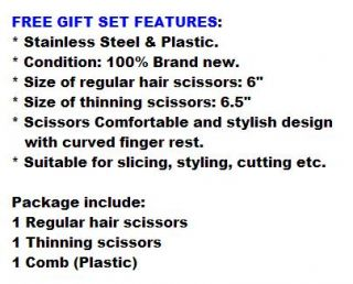 ★reclining Barber Chair Shampoo Salon Styling ★includes Scissors Comb Set 3RK3D