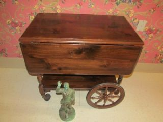 Ethan Allen Antique Old Tavern Pine Commode End Table 8053