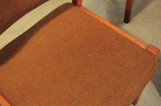 Set of 4 Vtg Mid Century Swedish Modern Svegards Teak Arch Dining Chairs Danish