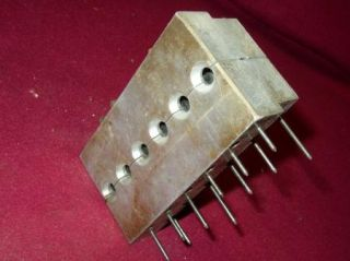 Aluminum Fishing Weight Sinker Mold 12 Cavities