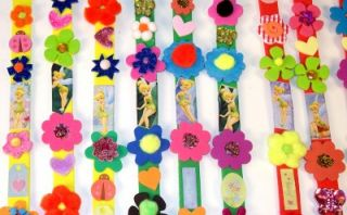 12 New Disney Fairies Tinkerbell Bracelets Party Favors