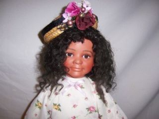Soul Kidz Paradise Galleries Kelly Rupert Black African American Baby Shay Doll