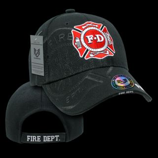 Shadow Hat Ball Caps Fire Department Rescue Teams US Heroes Baseball Cap