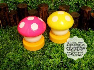 Baby Nursery Bedside LED Lamp Night Light Mushroom