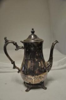 Wm Rogers Company Silver Plated Tea Pot Style 800