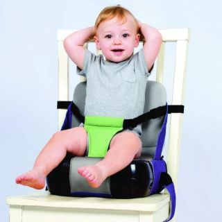 Kids Kit Seat N Store Baby Booster Seat Folds Into A Handy Shoulder Bag New